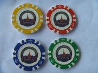 14 Gram Colorful Clay Poker Chips fun school toys