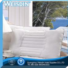plain manufacter 100% silk top grade air cushion pillow
