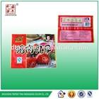 plastic bags for frozen food/frozen food packaging pouch bag/frozen food packaging bag for meatballs