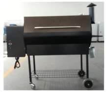 Electric Grill,250W,GS,Nonstick Wood Pellet Grill BBQ