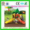 JMQ-P048C Outdoor preschool playground equipment,plastic toy mall playground equipment,dog playground equipment for sale