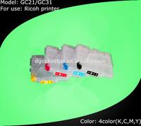 Cheap price! Refill Ink Cartridge for Ricoh GC21 for Ricoh Inkjet GX3000 Printer