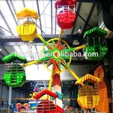 Beautiful design 6 cabin indoor amusement rides small ferris wheel