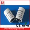 fluorescent starter FS-U/FS-2/FS-10 glow starter for fluorescent lamp Flatbulb with condenser,copper base PC