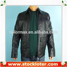 Fashion Mens PU Jacket leather coat liquidation, 130906a