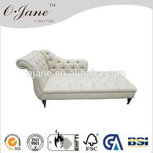 Clássico de estilo antigo de madeira moldura sofá-cama sf-2999