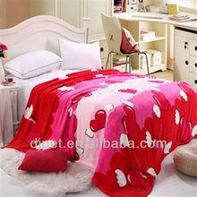cheap super soft animal printed mink blanket