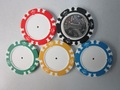 14 Gram Colorful Clay Poker Chips rare stamp painting