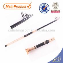 TSR062 glass fishing rod blank fishing rod weihai oem tele spinning pole