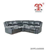 Living room promotion corner recliner sofa furniture SX-8989