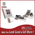 Um novo sapato idéias de exibição acrílico sapatos Display stand sapatos expositores