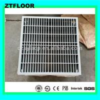 Directional die-casting aluminum grate panel raised access floor tile