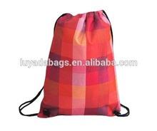 Fashional new design nylon drawstring bag from China Manufacturer