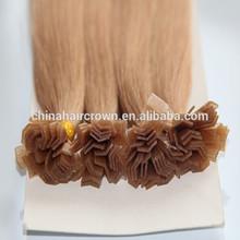 100% virgin brazilian ombre nail tip fusion hair