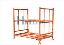 storage truck adjustable folding stack racking