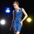 progettista rayon abito sexy per donna matura