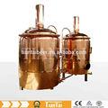 Mini, bar, artesanato, cobre de luxo, 200l-1000l cerveja equipamento de fabricação