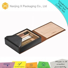China wholesale X-1 leather cigar box