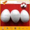 100mm 3pcs/bag egg shape chian factory X-mas holloween decorative kids DIY educational painting toys polystyrene styrofoam ball