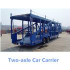 2 Axle Hydraulic Car/Vehicle Carrier,Car Transport Semi Truck Trailer