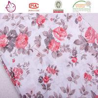 100 %cotton printing english cotton printed fabric shaoxing