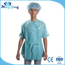 Disposable nonwoven scrub suit for nurses