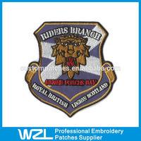 Blazer Badge Family Crest/Embroidered Blazer Crest Patch/Hand Embroidered Family Crest
