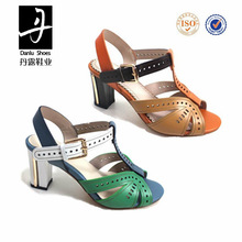 new style fashion lady genuine leather safety shoes