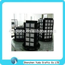 Clear acrylic plexiglass watch display cabinet,acrylic watch display,plexiglass watch display