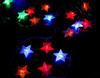 colorful waterproof led star light festoon light