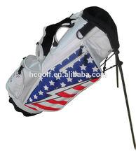 american flag golf stand bag