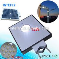 Monocrystal Solar Panel High Lumens LED Solar Street Light