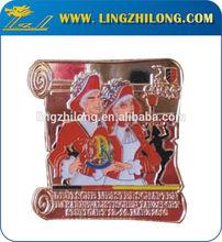 Custom Wedding Gift metal Pin Badge/ Playboy Lapel Pin Emblems