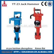 Portable air leg 22mm hammer drill / 26mm hammer drill / 32mm hammer drill in 2014