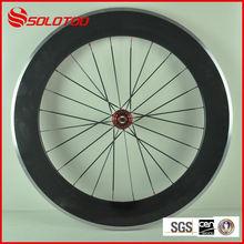bike alloy wheel glossy finish Clincher Road Bike Carbon Wheelset