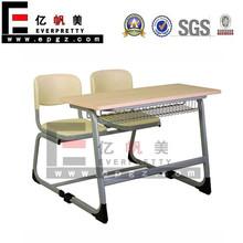 Vieux mobilier scolaire, Classe bureaux et des chaises pour enfants, Bois de chaise de bureau