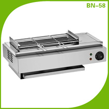 Indoor Korea hotel electric bbq grill/electric bbq grill for restaurant