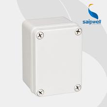 SAIP/SAIPWELL Anti-Uv IP66 ABC/PC Material small electrical junction box