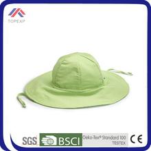 2013green fancy ladies cotton church sun hats