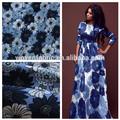 Impresso tecido de algodão nome de empresa têxtil