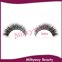 5001 crystal mink lashes 100% real siberian mink fur false eyelashes stone double layered diamond mink lashes