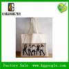 eco friendly fashionable natural color cotton shopping bag