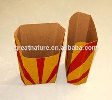Custom printed paper hot dog box
