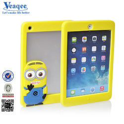Veaqee 2014 Hot Selling Cute Cartoon Spider Silicone Case for Ipad mini