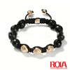 Hot Selling Skull Shamballa Inspired Bracelet