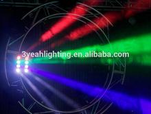 new 8pcs 4 in 1 rgbw white 10w leds beam spider light led move beam