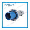 waterproof plastic Panel mounted Industrial Socket Electrical plug&socket 3p+n+e industrial plug and socket