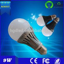 3w, 5w, 7w, 9w high luminance e27 led bulb