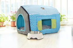 two doors dog house & pink dog house & outdoor rattan dog bed