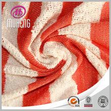 t/r metalic spandex sweather broad knitting